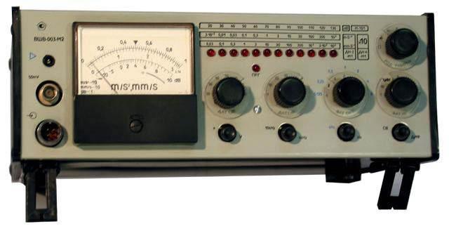 измерения параметров вибрации: